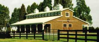 Как сделать конюшню для лошадей: место, материалы, стойло и фото